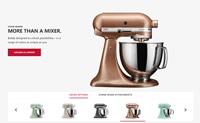 美国台面电器和厨具品牌:KitchenAid