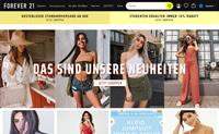 Forever 21德国官网:美国标志性快时尚品牌