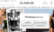 法国女性内衣购物网站:Glamuse