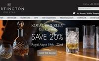 英国领先的酒杯和水晶玻璃器皿制造商:Dartington Crystal