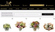 Interflora澳大利亚:同日鲜花速递