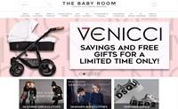 英国婴儿和儿童奢侈品牌的独立零售商:The Baby Room