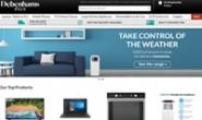 英国笔记本电脑、电视和家用电器购物网站:Debenhams Plus