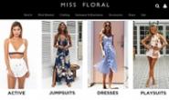 Miss Floral官网:英国最著名的在线时尚零售商之一