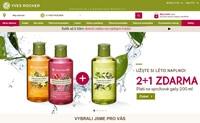 Yves Rocher捷克官方网站:植物化妆品的创造者