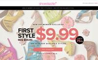 女士鞋子、包包和服装在线,第一款10美元:ShoeDazzle