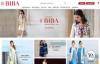 印度民族服装购物网站:BIBA