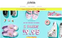 可爱的童装和鞋子:Fabkids