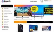 乌克兰电子产品和家用电器购物网站:TOUCH
