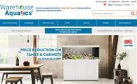 英国水族馆和池塘用品购物网站:Warehouse Aquatics