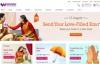 印度排名第一的蛋糕、鲜花和礼品送货:Winni