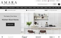 英国领先的豪华时尚家居网上商店:Amara