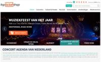 荷兰音乐会和音乐剧门票订购网站:Topticketshop