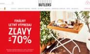 斯洛伐克家具和时尚装饰品购物网站:Butlers.sk