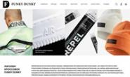 俄罗斯品牌篮球鞋和服装在线商店:Funky Dunky