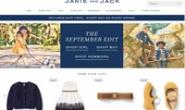 Janie and Jack美国官网:GAP旗下的高档童装品牌