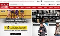 意大利体育用品和运动服网上商店:Maxi Sport