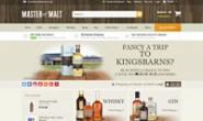 英国购买威士忌网站:Master of Malt