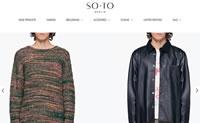 德国在线男装概念店:SOTO Store