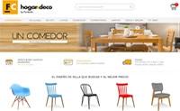 阿根廷家具和家居装饰购物网站:Tienda FC