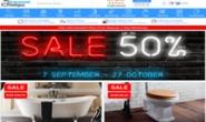 英国卫浴商店:Ergonomic Design