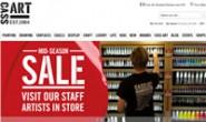 英国美术用品购物网站:Cass Art