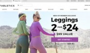 Fabletics官网:美国运动服饰品牌,由好莱坞女演员凯特·哈德森创立