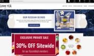 Kusmi茶美国官网:优质散叶茶和茶包