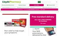 英国在线药房和在线医生:LloydsPharmacy