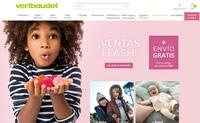 Vertbaudet西班牙网上商店:婴儿服装、童装、母婴用品和儿童家具