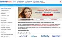 美国知名的隐形眼镜电商:Contacts America