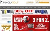 英国领先的在线高尔夫商店:Gamola Golf