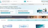 英国领先的隐形眼镜在线供应商:Lenstore.co.uk