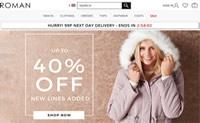 英国最受欢迎的平价女士时装零售商:Roman Originals
