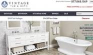 美国浴缸、水槽和水龙头购物网站:Vintage Tub & Bath