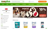 Zooplus罗马尼亚:宠物食品和配件
