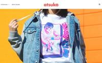 日本动漫周边服饰销售网站:Atsuko