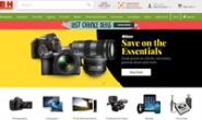 美国专业消费电子及摄影器材网站:B&H Photo Video