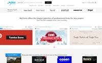 世界上最大的字体市场:MyFonts