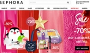 SEPHORA丝芙兰德国官方购物网站:化妆品、护肤品和香水
