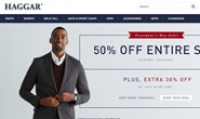 Haggar官网:美国男装品牌