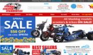 美国踏板车和轻便摩托车销售网站:Mega Motor Madness