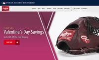 美国职棒大联盟的官方手套、球和头盔:Rawlings
