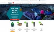 德国户外装备、登山运动和攀岩商店:tapir store