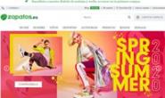 西班牙鞋子和箱包在线销售网站:zapatos.es