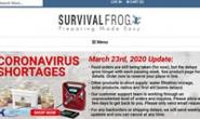 美国最大的在线生存商店:Survival Frog