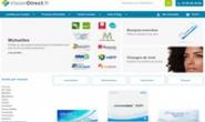 法国隐形眼镜网站:VisionDirect.fr