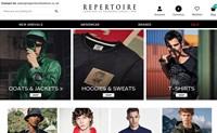 英国领先的男装设计师服装独立零售商:Repertoire Fashion