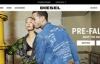 Diesel美国网上商店:意大利牛仔时装品牌