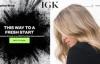 IGK Hair官网:喷雾、洗发水、护发素等